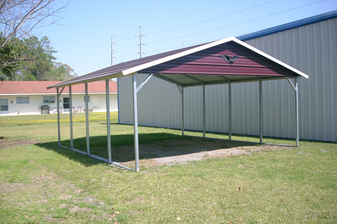 Metal buildings carports kingdom builders for Garages and carports
